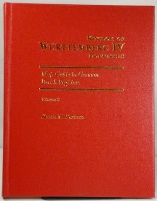 Map Guide to German Parish Registers Vol. 8 - Württemberg IV – Donaukreis - Hard Cover