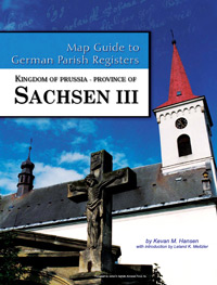 Map Guide to German Parish Registers Vol. 29 - Kingdom of Prussia, Province of Sachsen III, RB Magdeburg