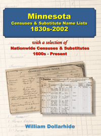 Minnesota Censuses & Substitute Name Lists 1830s-2002