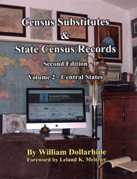 PDF: Census Substitutes & State Census Records, Vol 2 - Central States - Second Edition
