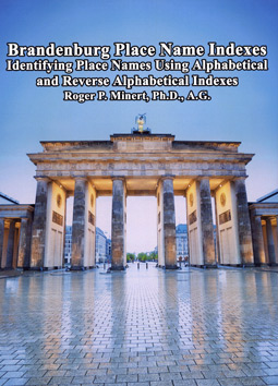 Brandenburg Place Name Indexes: Identifying Place Names Using Alphabetical and Reverse Alphabetical Indexes