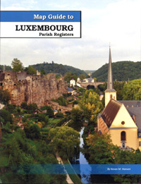 Map Guide to Luxembourg Parish Registers