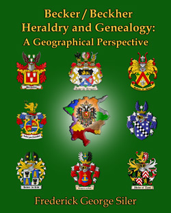 Becker/Beckher Heraldry and Genealogy: A Geographical Perspective