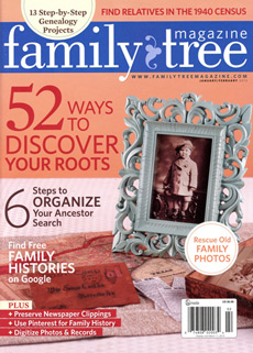 Family Tree Magazine; January/February 2013