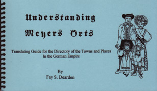 Understanding Meyers Orts – Translating Guide for the Directory of the Towns and Places of the German Empire