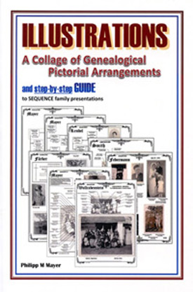 Illustrations, A Collage of Genealogical Pictorial Arrangements