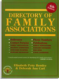 Directory of Family Associations, Fourth Edition