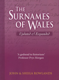 The Surnames of Wales - Updated & Expanded