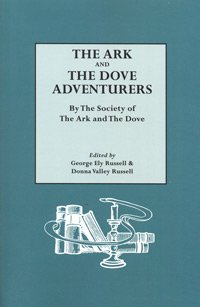 The Ark and the Dove Adventurers, by the Society of the Ark and the Dove