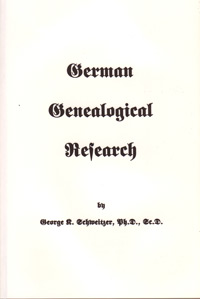 German Genealogical Research