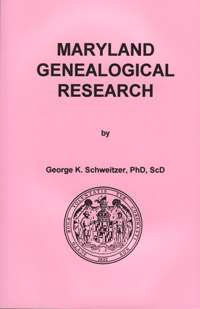 Maryland Genealogical Research