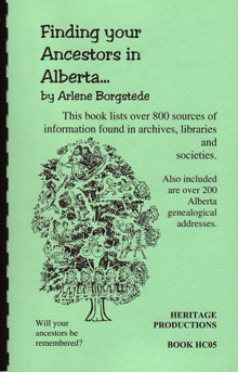 Finding Your Ancestors in Alberta