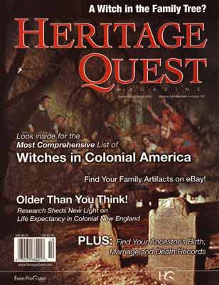 Heritage Quest Magazine 101 Sept/Oct 2002