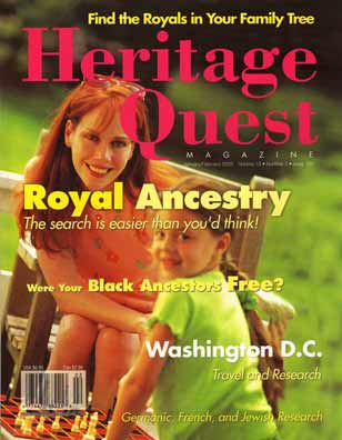 Heritage Quest Magazine 103 - Jan/Feb 2003