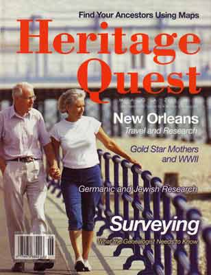 Heritage Quest Magazine 105 - May/Jun 2003