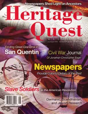 Heritage Quest Magazine 106 - Jul-Aug 2003