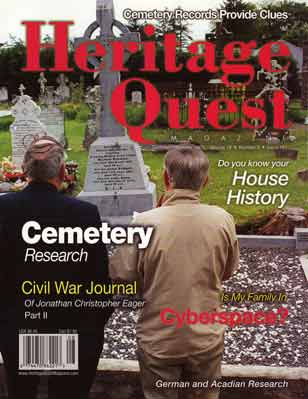 Heritage Quest Magazine 107 - Sep/Oct 2003