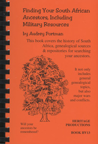 Finding Your South African Ancestors, Including Military Resources