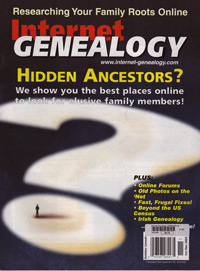 Internet Genealogy – October/November 2009