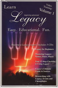 Legacy Training Video CDS – Volume 1