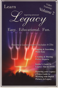 Legacy Training Video CDS – Volume 2
