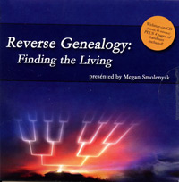 Reverse Genealogy: Finding the Living - CD-ROM