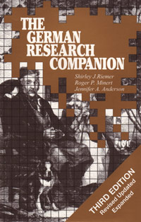 The German Research Companion, Third Edition