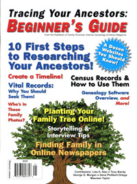 Tracing Your Ancestors: BEGINNER'S GUIDE - PDF EBook
