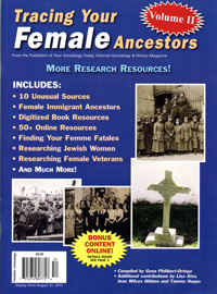 Tracing Your Female Ancestors, Volume II