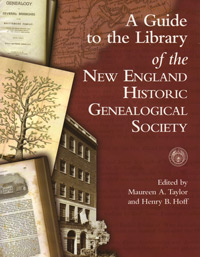 A Guide to the Library of the New England Historic Genealogical Society