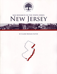 Research in New Jersey – NGS Research in the States Series