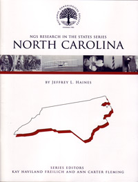 Research in North Carolina – NGS Research in the States Series