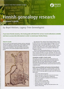 Handy Guide: Finnish Genealogy Research Beginner