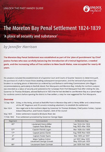 Handy Guide: The Moreton Bay Penal Settlement 1824-1839